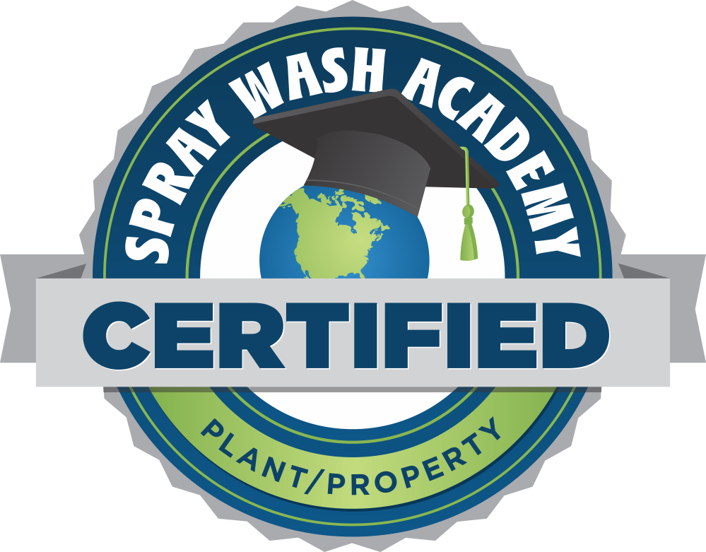 The Pressure Professor is Plant and Property Protection Certified