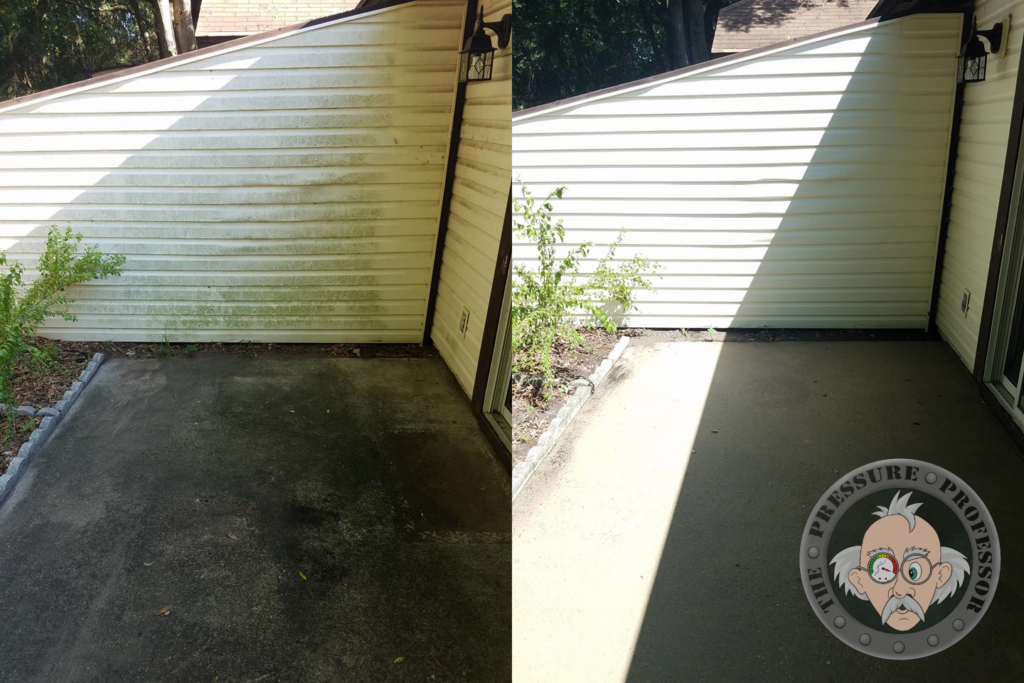 Safe low pressure cleaning for a variety of exterior surfaces