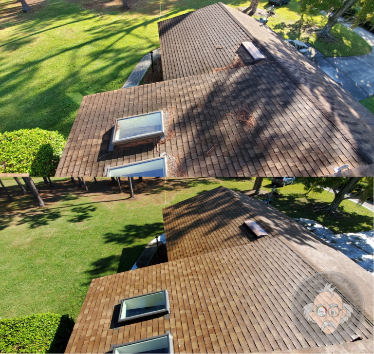 Bring new life to your roof with safe low pressure roof cleaning